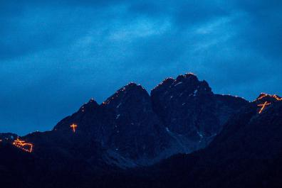 Heart of Jesus Fire in South Tyrol