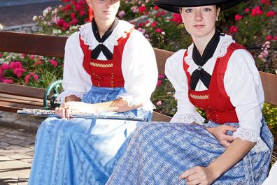 Traditional Tyrolean costume
