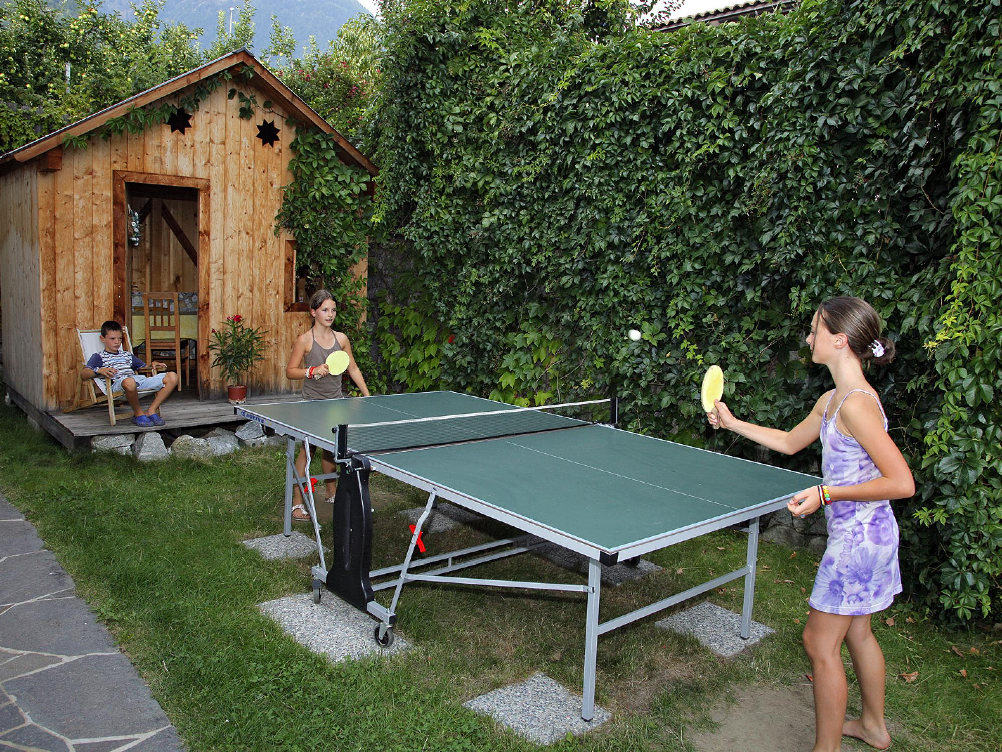 Ping pong fun for everyone, young and old