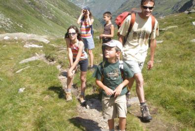 South Tyrol - Hiking with the kids